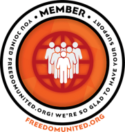 freedom united membership badge